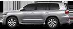 Подмотка для Toyota Land Cruiser 200. Рестайлинг II с 2015 (Установка)
